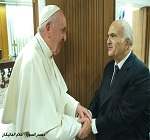 Prince Hassan meets Pope