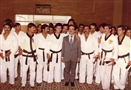 HRH Prince El Hassan with the Taekwondo Team of Jordan